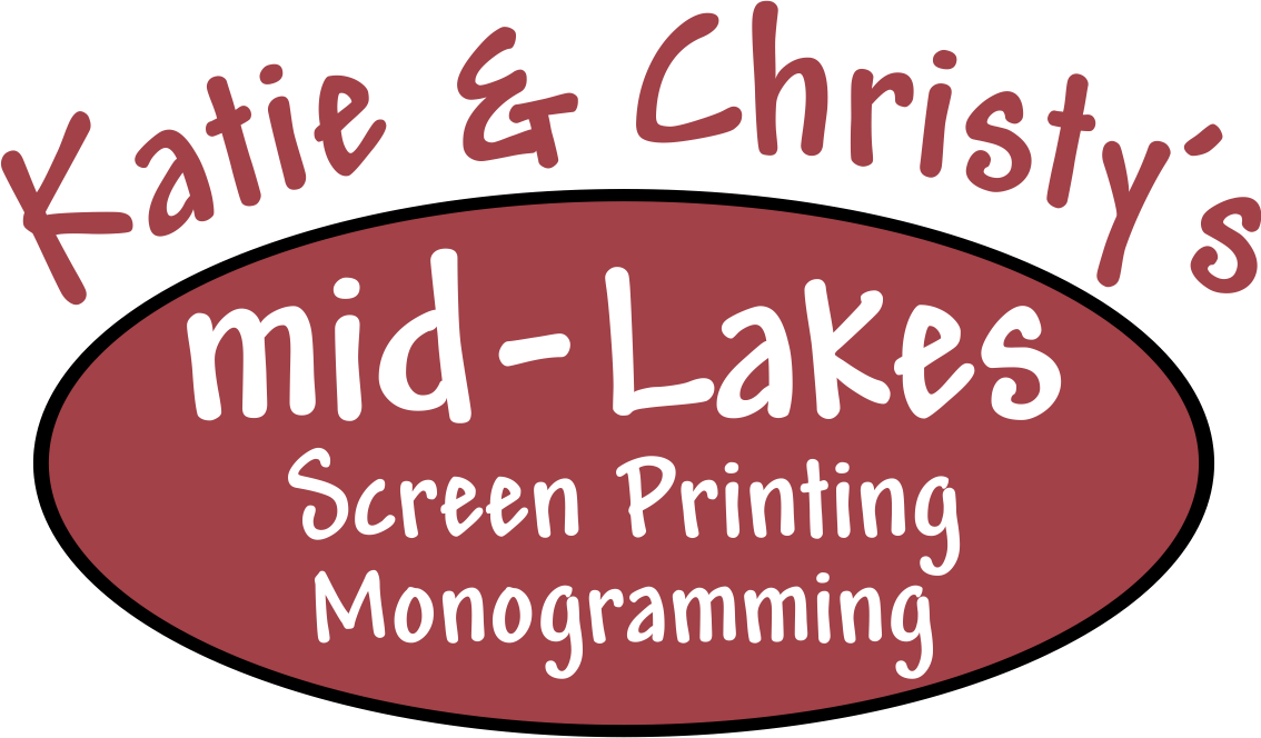 Katie and Christy's mid-Lakes Logo